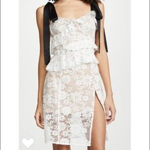NWT For Love & Lemon Fabienne Midi Dress